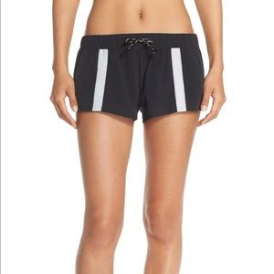 Free People Movement Hot Trot Workout Shorts Black